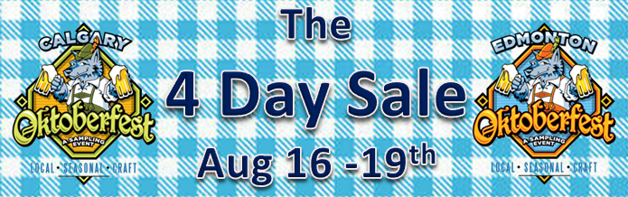 4 Day Sale