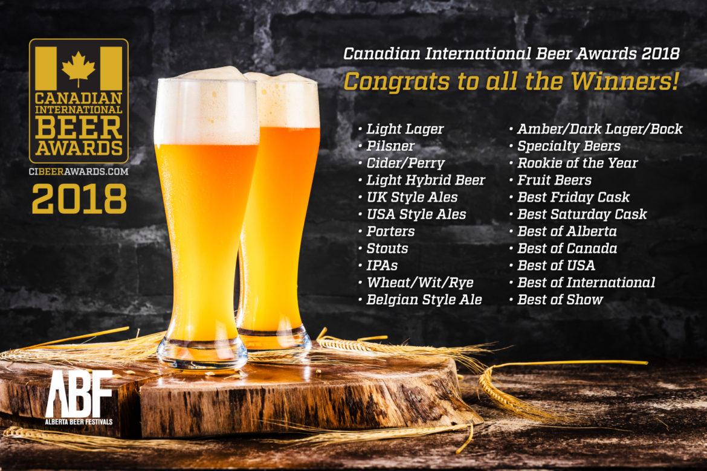 And The Winner Is… - Alberta Beer Festivals
